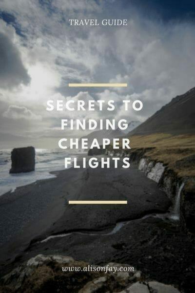 Secrets to Finding Cheap Flights