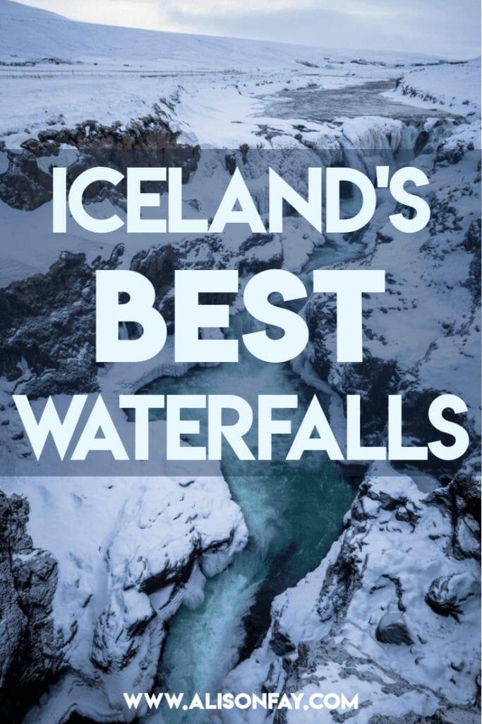 Iceland's Best Waterfalls - Pinterest